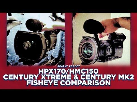 ◤HPX170/HMC150 Century Xtreme And Century MK2 (HDV Bayo) FIsheye Comparison // Viiordie.com