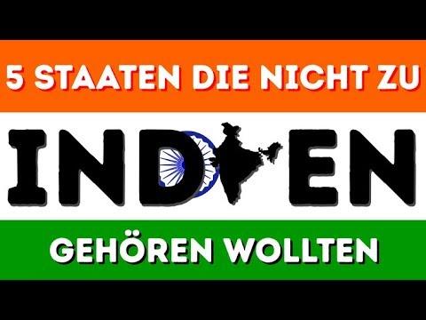 5 Staaten, Die Nicht Zu INDIEN Gehören Wollten