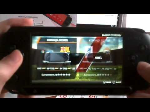Распаковка Sony PlayStation Portable (PSP) E-1008