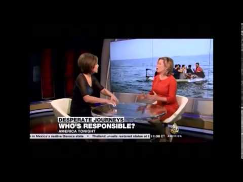 9 04 Al Jazeera  Sheila MacVicar explain EU Refugees policy the Dublin Regulation