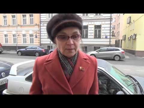Интервью Елены Шуваловой по поводу сноса здания на Садовнической улице