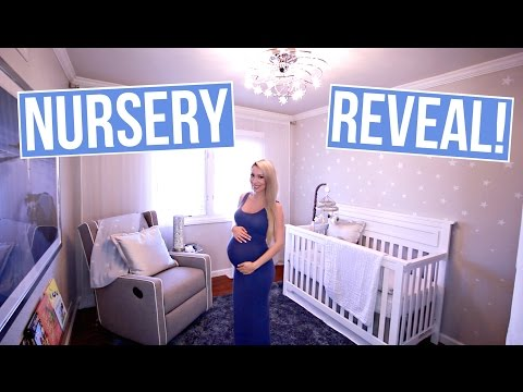 NURSERY TOUR ⭐ Star/Galaxy Theme
