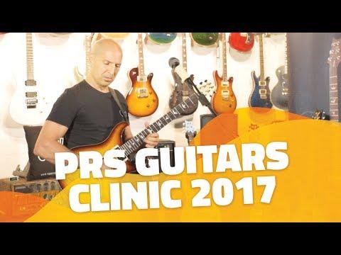 Clinic PRS Guitars con José Chaure