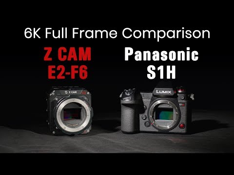 Panasonic S1H Vs Z CAM E2-F6 - 6K Full Frame Video Camera Comparison
