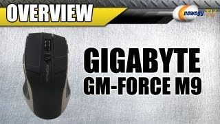Gigabyte GM-FORCE M9 Wireless Mouse Overview - Newegg TV