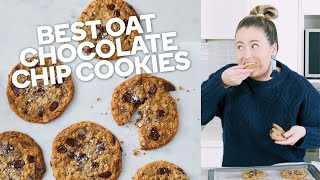Best oat chocolate chip cookies recipe - Make yourself at home with Woolworths
