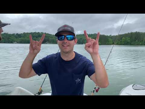 Georgia Clay Fishing - Lake Lanier