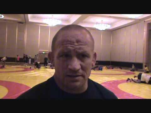 Dennis Hall, U.S. coach and past World Champion, prior to 2011 Wrestling Worlds