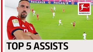 Franck Ribery - Top 5 Assists - Bayern's Assist King