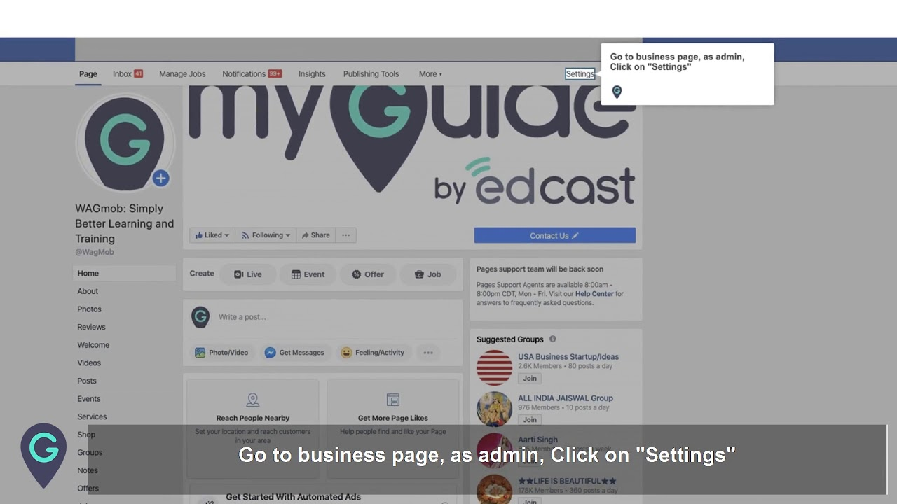 How to add a new user as admin on a facebook business page (manage roles in fb)