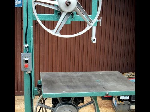 Homemade metal cutting bandsaw. Part 3.