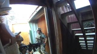 Airsoft: Integrity Tactical Solutions 6/29/13 Gameplay WE HK416 KWA USP
