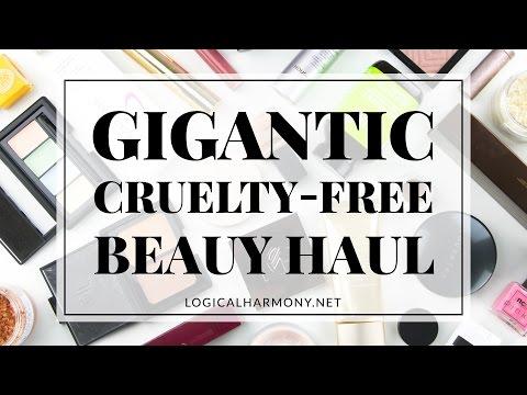 Gigantic Cruelty-Free Beauty Haul! (& vegan, too!) - Logical Harmony