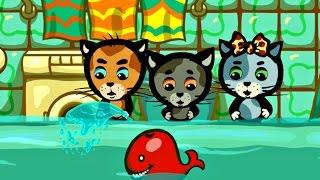 Мультики для малышей - Три котенка - Наша ванна Океан (3 сезон | серия 6)