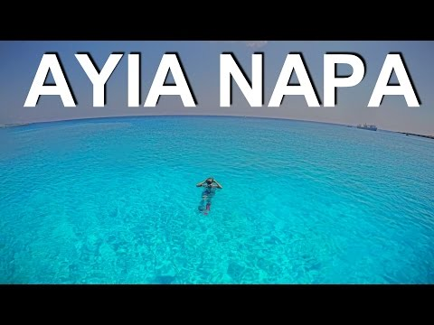 CRYSTAL CLEAR WATERS OF AYIA NAPA - CYPRUS [FHD/60FPS]