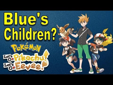 who are the protagonists in pokemon let s go pikachu and eevee