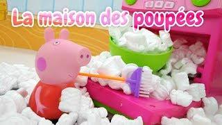 Peppa Pig en français. Dessert - surprise pour maman. Vidéo pour enfants