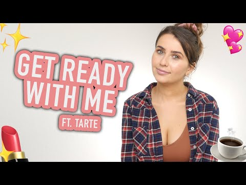 Get Ready with Me - Tarte Foundcealer Foundation Dry Skin (Cruelty Free & Vegan!) - Logical Harmony thumbnail