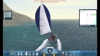 Sail Simulator 5 Bavaria Spinaker basics