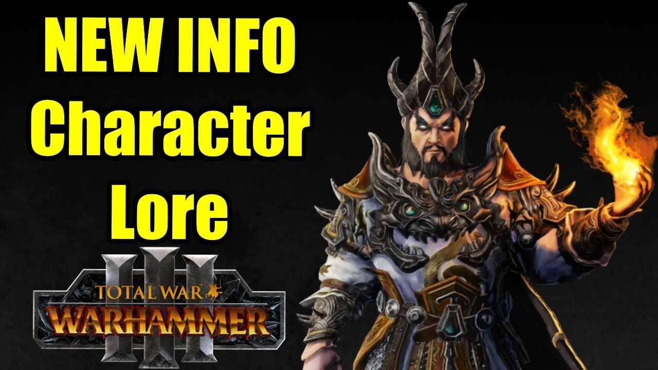 NEW Cathay Legendary Lord Info - Biography Lore - Total War Warhammer 3
