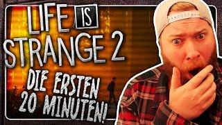 SCHOCKIERENDE 20 Minuten von LIFE IS STRANGE 2! + Reaktion
