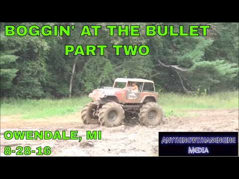 BOGGIN' AT THE BULLET PART TWO  SILVER BULLET SPEEDWAY, OWENDALE, MICHIGAN 8 28 16