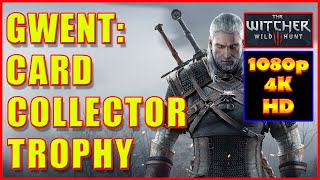 Witcher 3 - Gwent Card Collector Achievement Trophy