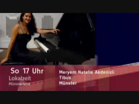 Ankündigung Klavierabend im Tibus Münster