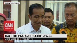 Isu THR PNS Cair Lebih Awal, Presiden Jokowi Tidak Tahu?