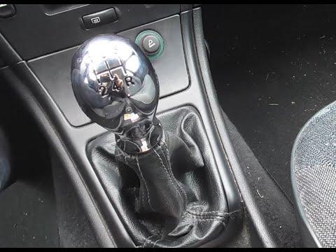 Замена ручки КПП на Citroën Xsara