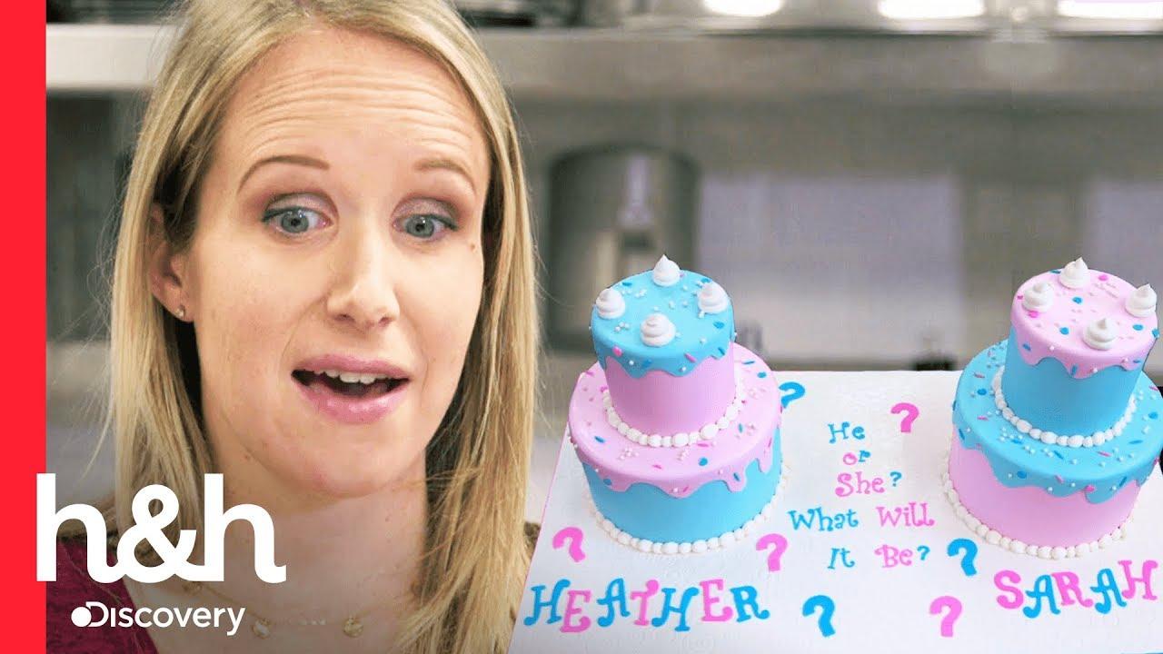Download Un pastel para descubrir el sexo del bebé | Cake Boss | Discovery H&H