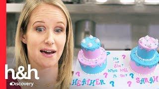 Un pastel para descubrir el sexo del bebé | Cake Boss | Discovery H&H