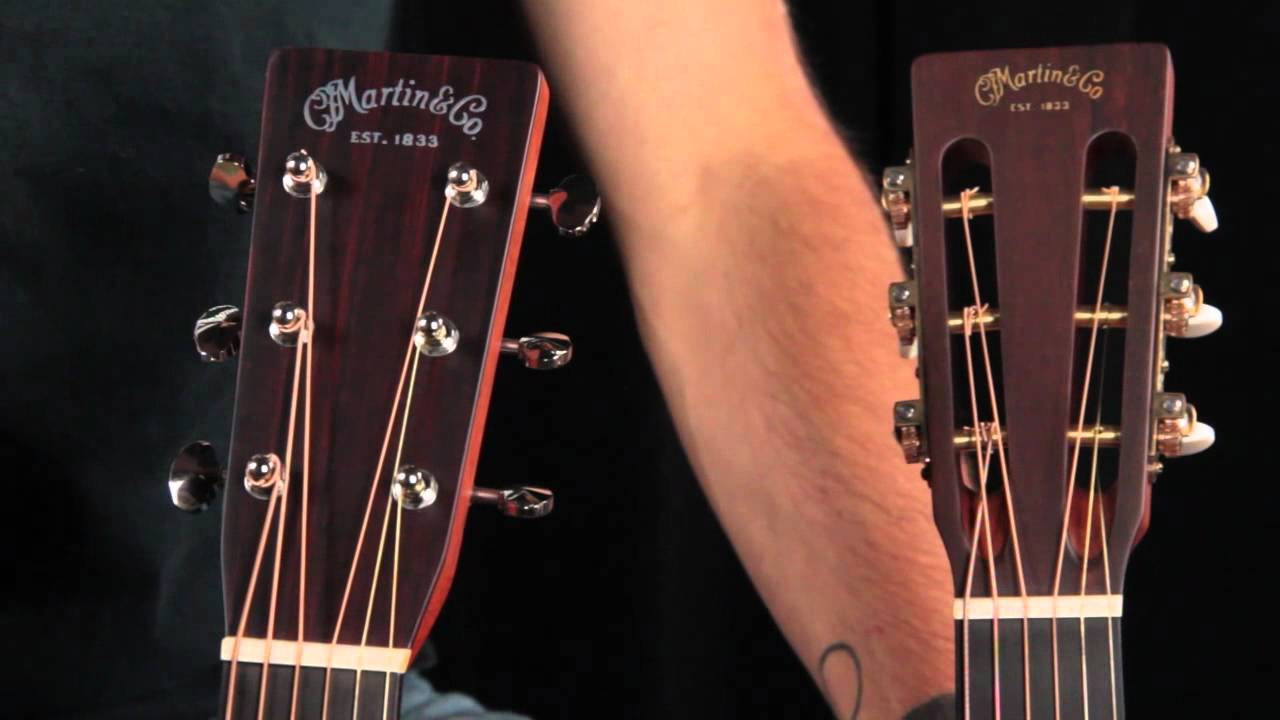 slotted vs solid headstock acoustic guitar anatomy youtube. Black Bedroom Furniture Sets. Home Design Ideas