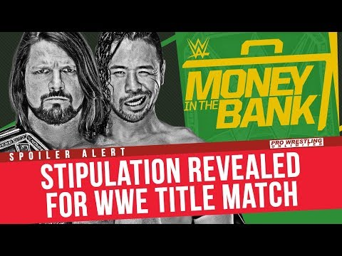 SPOILER ALERT: Stipulation Revealed For WWE Title Match