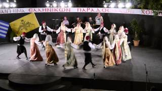 Το Πλατανιώτικο νερό - 4ο Συναπάντημα Παραδοσιακών Χορών - Πάτμος 2013