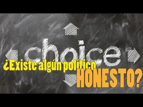 ¿Existe algún político honesto?