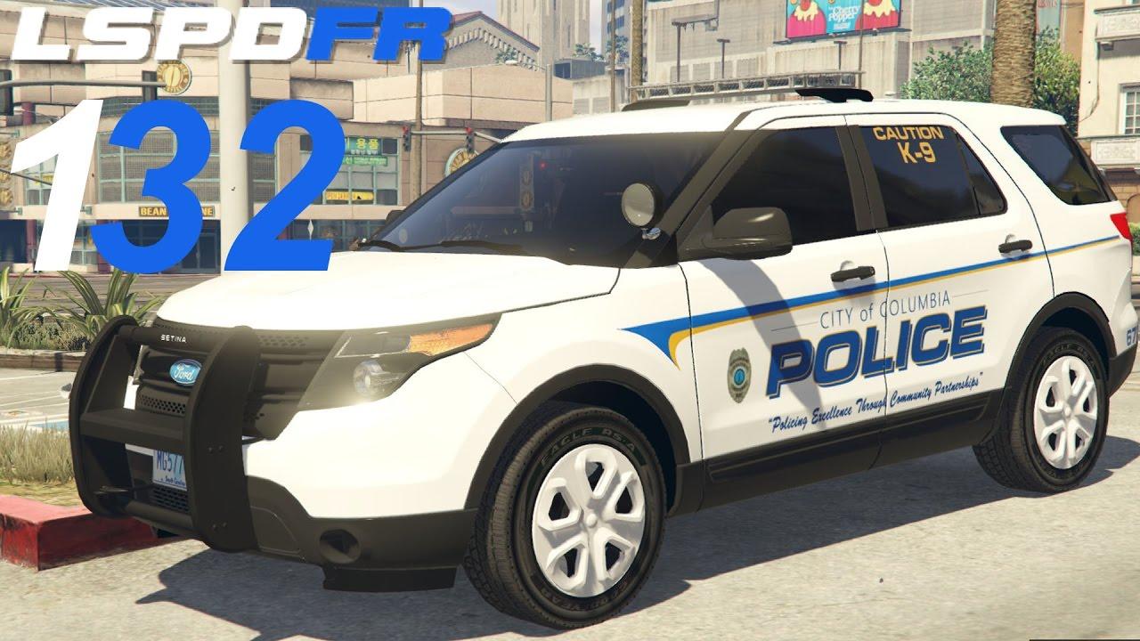 Gta 5 Lspdfr Sp 132 Columbia South Carolina Police Youtube