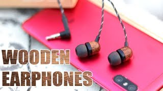 House of Marley Smile Jamaica Wooden Budget Earphones Review - In Ear Headphones with Mic