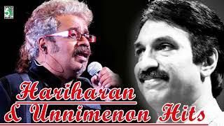 Hariharan & Unnimenon Super Hit Popular Audio Jukebox