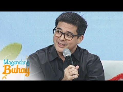 """Magandang Buhay: Aga Muhlach makes """"hugot"""" about love"""