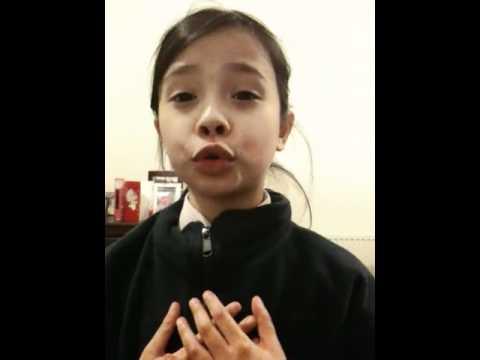 Anak Bule Nyanyi Lagu Hymne Guru