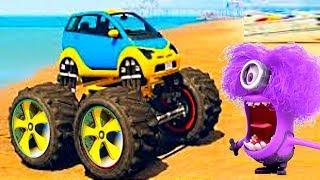 Мультики #про машинки гонки - Супер ДЖИП !! Видео игра #для детей - Новые мультфильмы 2018