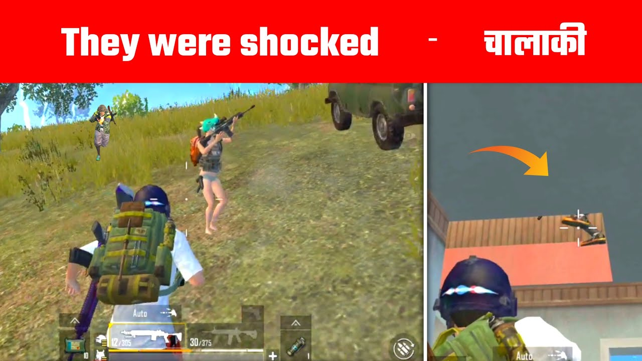 This guy was Shocked after my this Attack | Pubg mobile lite Gameplay By - Gamo Boy
