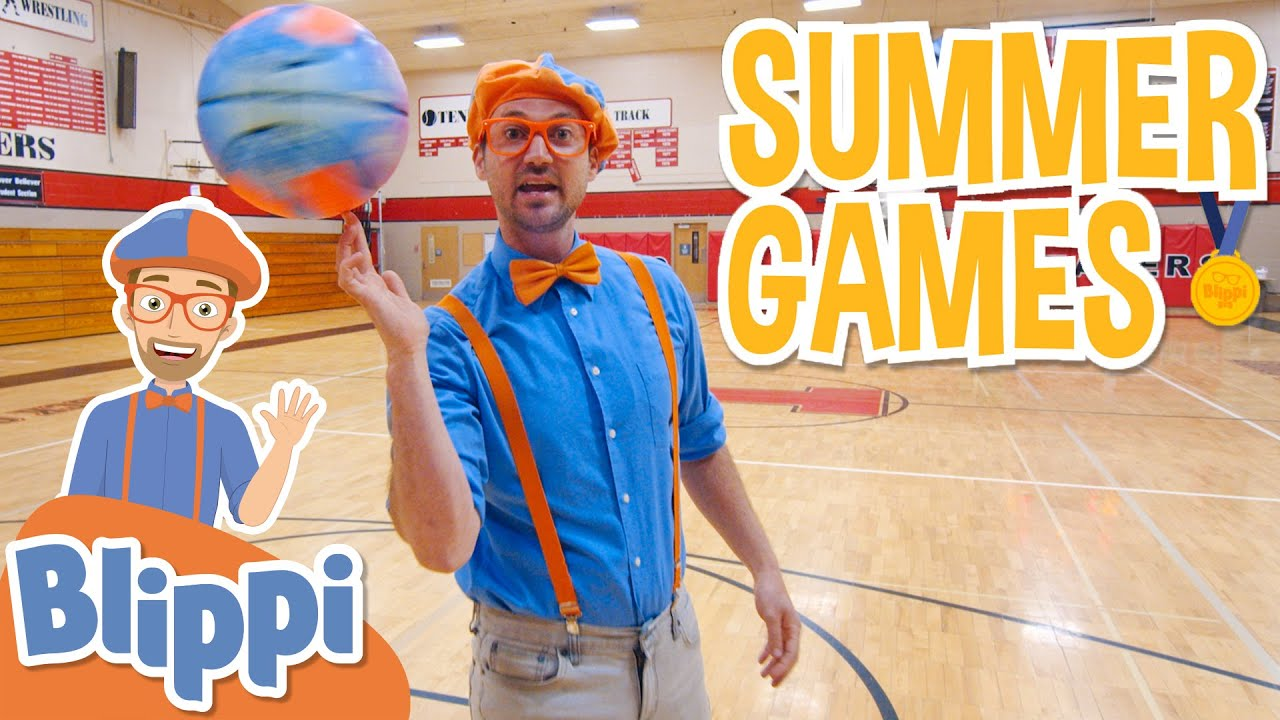 Blippi's Summer Games Movie Special! | Learn About Sports For Kids | Educational Videos For Toddlers