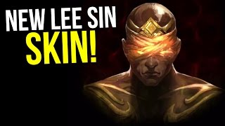 NEW (LEGENDARY?) LEE SIN SKIN TEASER!! | HOLY SH*T - League of Legends