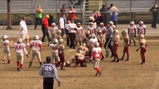 Virginia Beach, VA VBYFL 2012 Mighty Mites Championship Game Part 1