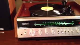 Sony record player mint condition 1970s