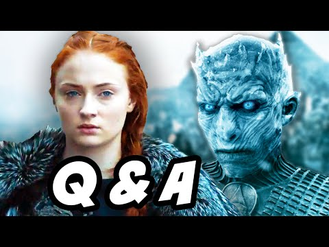 Game Of Thrones Season 6 Trailer 2 Q&A - Queen Sansa Stark