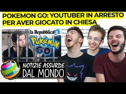 YOUTUBER ARRESTATO PER POKEMON GO - Notizie assurde dal mondo #3