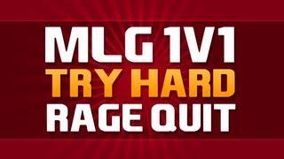 1v1 RAGE QUIT MLG PRO! (Call Of Duty Gamebattles)